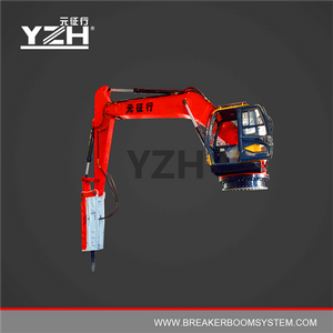 Static Type Hydraulic Rock Breaker Booms System