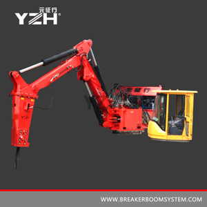 Static Type Manipulator With Hydraulic Rock Breaking Hammer