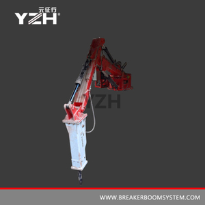 Hydraulic Pedestal Boom Breaker Systems For Gyratory Crusher
